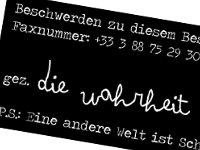 Faxaktion Straßburg